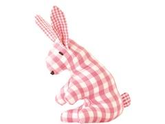 Mini Bunny Rattle - Pink