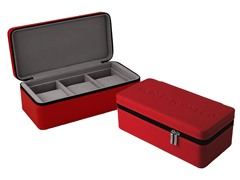 Android 3-Slot Leatherette Travel Case