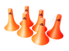 adidas High Cones, 6-Piece Set