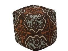Artistic Weavers Pouf Coffee Bean