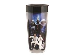 16 oz. Plastic Travel Mug