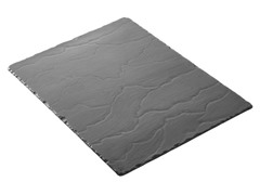 "Basalt Large Rectangular Tray 15.75"" x 11.75"""