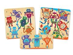 P'Kolino Robot Set - 3 Puzzles