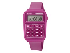 Timex Multifunction Calculator Watch - Pink