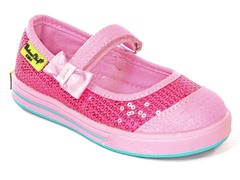 Mary Jane Bt Pink Sneaker (Tod 7.5-11.5)
