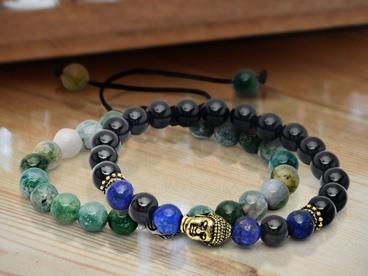 Natural Gemstone Bracelets & Necklaces
