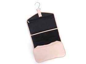 Hanging Leather Toiletry Bag