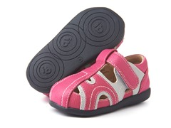 Squeaky Shoe - Alex, Pink/Grey (3-8)