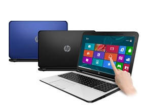 "HP 15.6"" AMD Quad-Core TouchSmart Laptops"