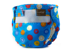 Ultra Lite Diaper - Blue Circles