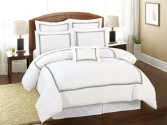 Delrio Hotel Square 7Pc Set-2 Sizes