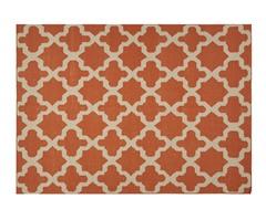 Maroc Aster Flat Weave - Merlot