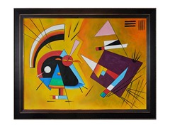 Kandinsky - Black and Violet
