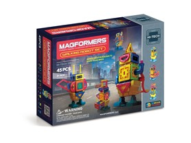Magformers Walking Robot 45 Pc Set