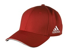 adidas adiTour Flex Fit Hat - Red (S/M)