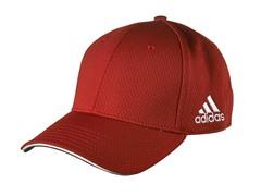 adidas adiTour Flex Fit Hat - Red (S/M)