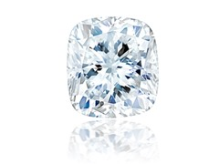 Cushion Modified Diamond 0.91 ct H IF with GIA report