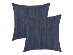 Denim Blue 17x17 Pillows-S/2