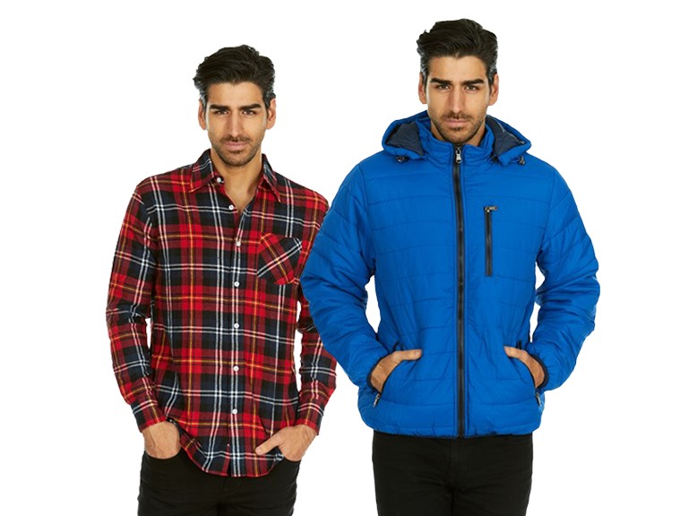 Flannels and Puffer Jackets for Lumberjacks