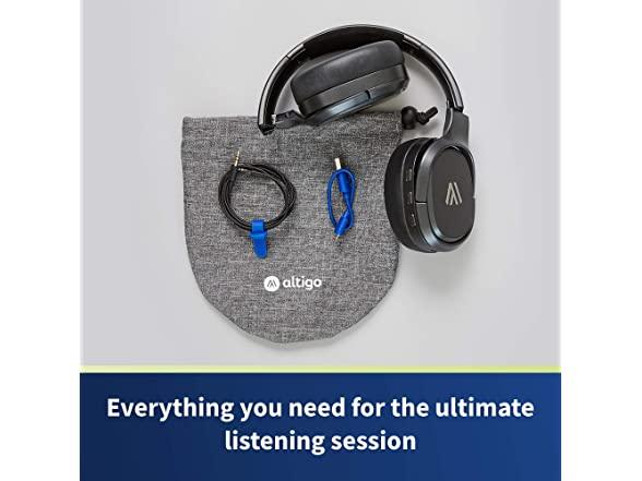 Image of Altigo Wireless Bluetooth Headphones