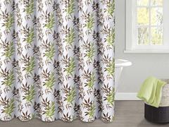 Sandy PEVA Shower Curtain