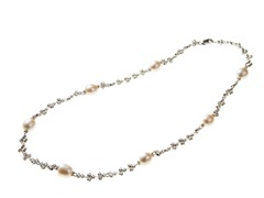 Freshwater Pearl and Bead Necklace