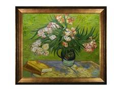 Van Gogh - Majolica Jar with Branches of Oleander