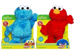 Elmo & Cookie Monster Squeeze-A-Song Bundle