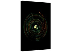 Star Trails Gallery Wrapped Canvas 2-Sizes