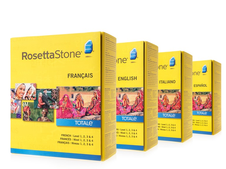 Rosetta Stone Levels 1-4: (Your Choice)