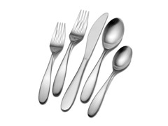 18/10 42pc Flatware Set-Alpine