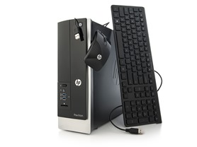HP 400 Intel Quad-Core Slimline Desktop