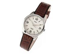 Timex Weekender, White w/ Brown