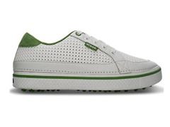 Drayden Golf Shoes - White/Green