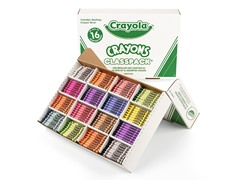 800 ct. Crayons Classpack® in 16 Colors