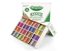 800 ct. Crayons Classpack® in 16 Colors