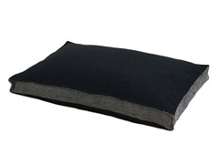 Ponderossa Black 22x34 Seamed Fiber Pet Bed