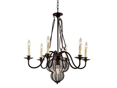 7 Light Adjustable Chandelier