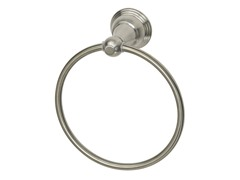 Varese Towel Ring, Brushed Nickel