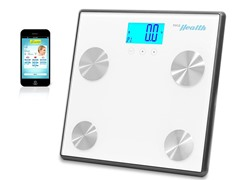 Pyle Bluetooth Digital Scale-White