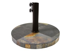 Heavy Duty Rustic Slate Umbrella Base