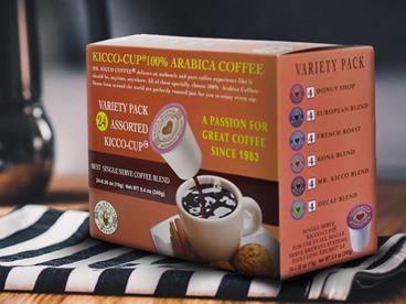 Mr Kicco K-Cups & Espresso Capsules