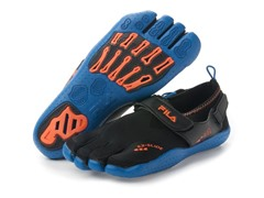 Men's EZ Slide Drainage - Black/Orange