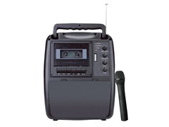Rechargeable Portable PA System with Wireless Mic
