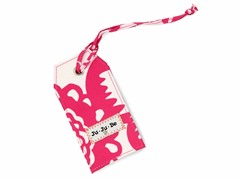 Fuchsia Blossoms Be Tagged 6-Pack of Bag Tag