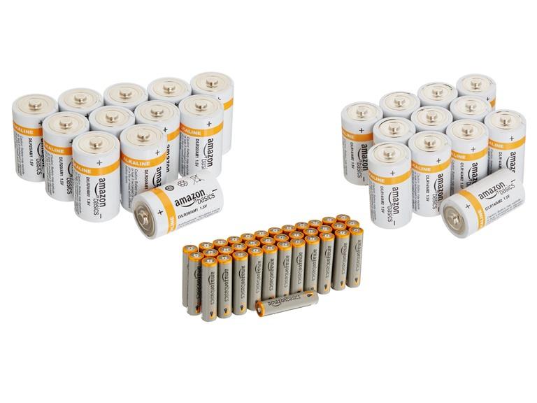 AmazonBasics Alkaline Batteries (Your Choice)