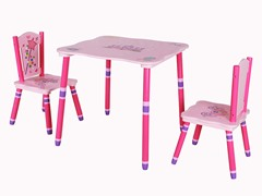 Princess Table & Chairs Set