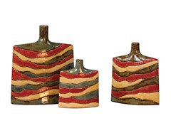 Ceramic Vases Set of 3