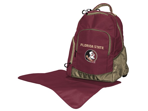 ncaa diaper bag backpack sports outdoors. Black Bedroom Furniture Sets. Home Design Ideas