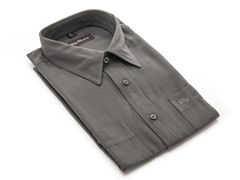 Oleg Cassini Men's Dress Shirt, Charcoal